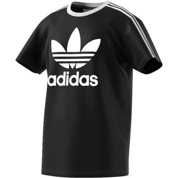 Adidas Tee 3 Stripes Black / White BQ3945