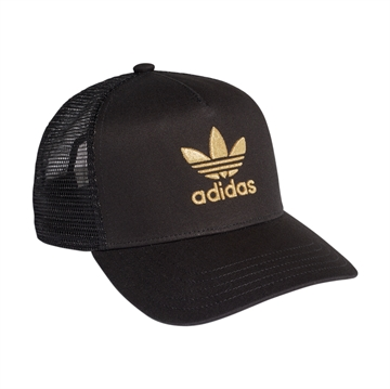 Adidas Gold Trucker Cap FM1674 Black