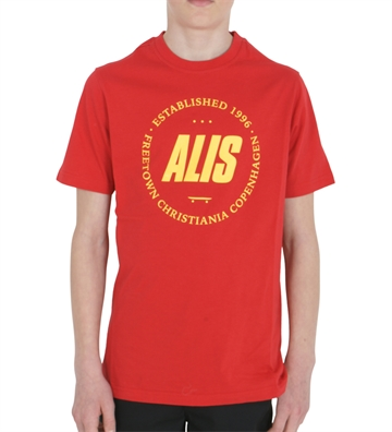 Alis T-shirt Freetown Tee Red