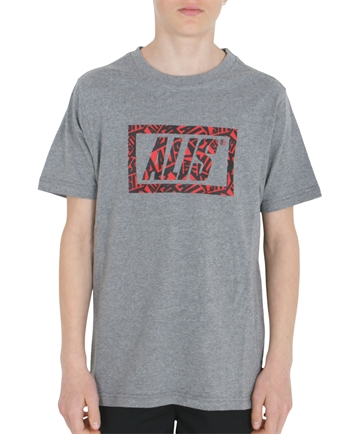 Alis T-shirt Sticker Game Stencil Tee Heather Grey