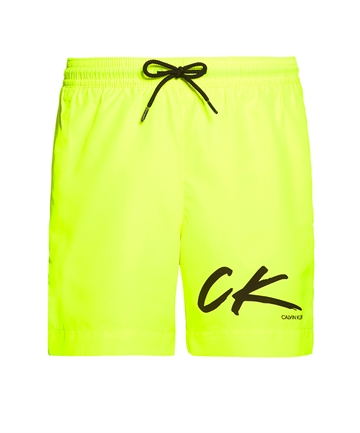 Calvin Klein Boys Swimshorts 700229 Safety Yellow