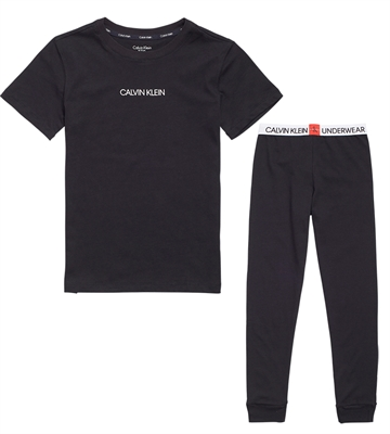 Calvin Klein Boys PJ Set 700249 Black/Black