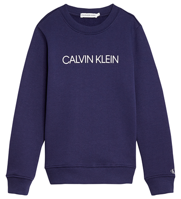 Calvin Klein Unisex Institutional Sweat Peacoat