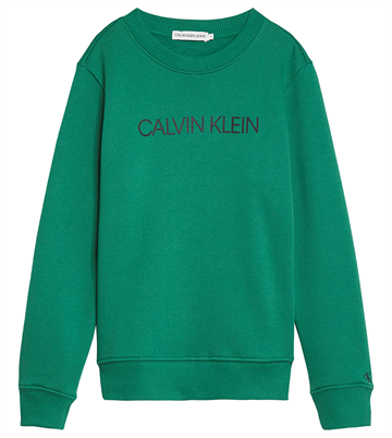 Calvin Klein Unisex Institutional Sweat Fresh Green