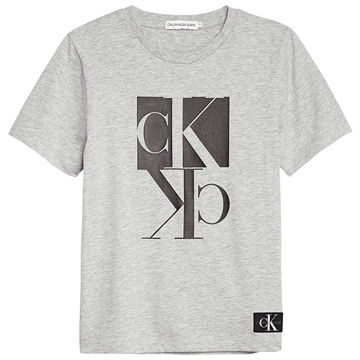 Calvin Klein Mirror Monogram s/s Light Grey Heather