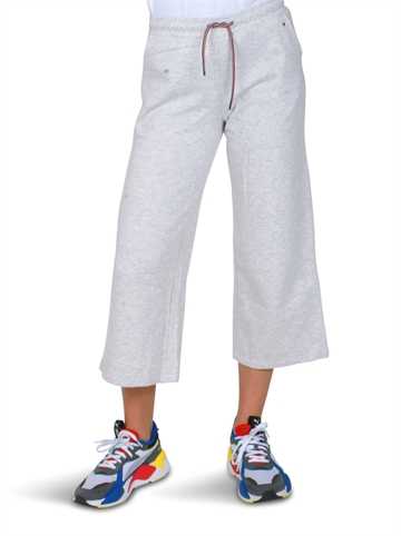 Hilfiger Girls Jog Pant Wide leg light grey 04122