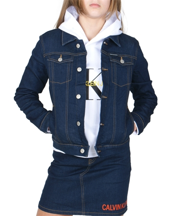 Calvin Klein Girls Denim Jacket Trucker G00043