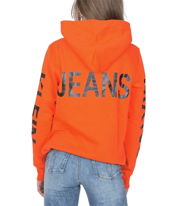 Calvin Klein Sweat Hoodie Sleeves Logo Orange.Com 00012
