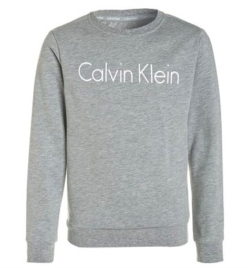 Calvin Klein Logo sweat crew grey
