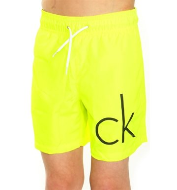 Clavin Klein Core swim shorts Neon medium draw 005