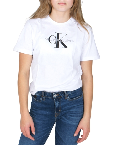 Calvin Klein T-shirt Logo Monogram Bright White 00032