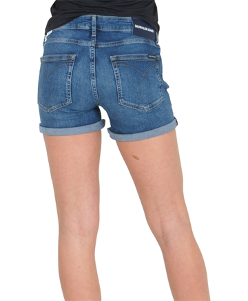 Calvin Klein Denim Shorts Mid Blue 00081