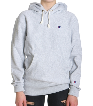 Champion Hood Sweatshirt Grey Melange 210966
