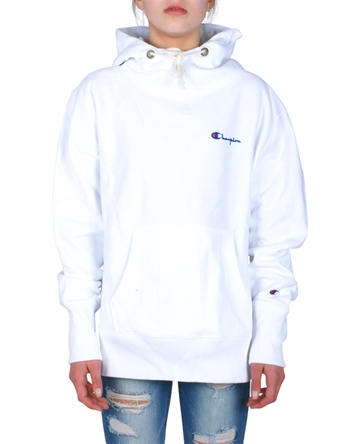 Champion Hood Sweatshirt White 210966