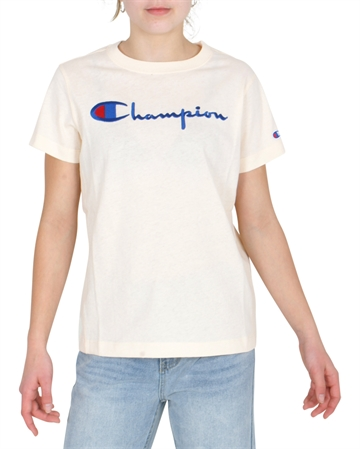Champion Girls T-shirt Crewneck 110992 VNC Powder
