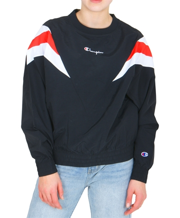 Champion Windbreaker Crewneck 111660 Black