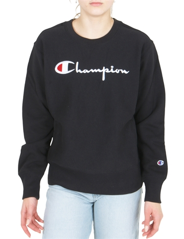 Champion Sweatshirt Crew S 113152 NBK Black