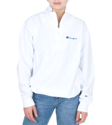 Champion Windbreaker Half Zip Top 213052 White