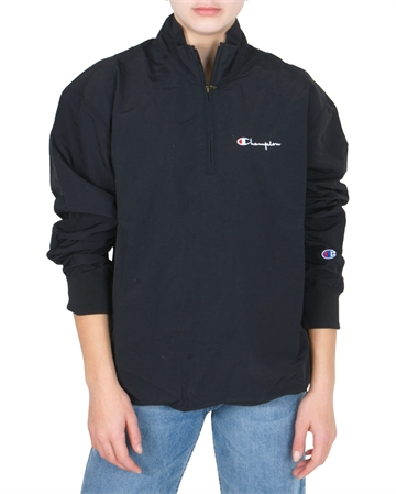 Champion Windbreaker Half Zip Top 213052 Black