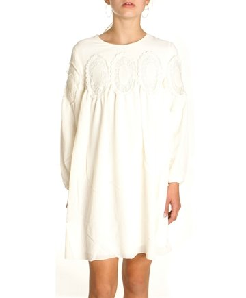 Chloé Dress ceremony Ivory C12631