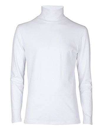 Costbart T-shirt l/s King 100 hvid