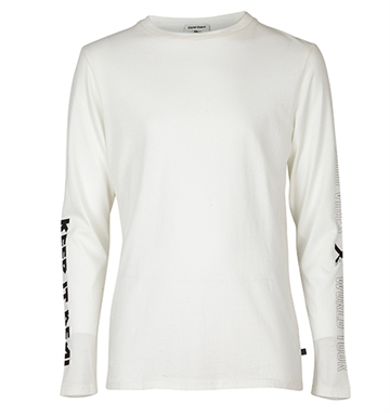 Costbart Boys tee Volmer l/s white