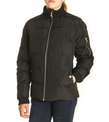 Costbart Girls Jacket Tina Black