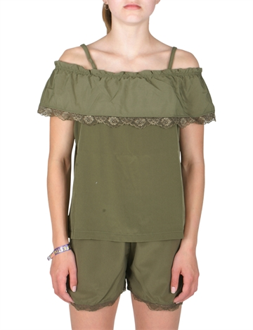 Costbart Girls top Barbara 785 green