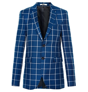 Costbart Boys Blazer Kristian Blue Check