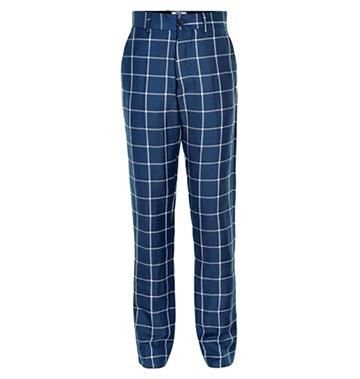 Costbart Boys Klaus Pants Blue Check