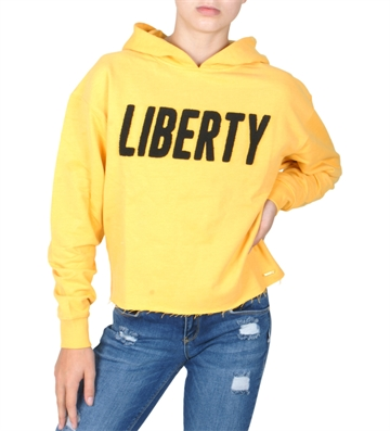 Costbart Girls Hoodie Creola 378 Yellow
