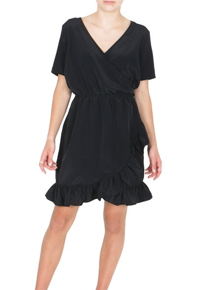 Costbart Kjole faith With ruffles Black