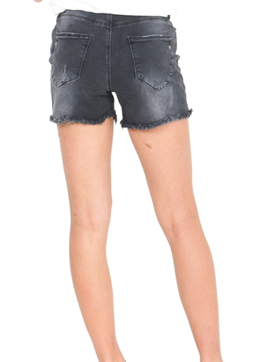 Costbart Girls Denim Shorts Medium Black Wash