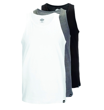 Dickies Tank Tops 3PK Black/White/Grey