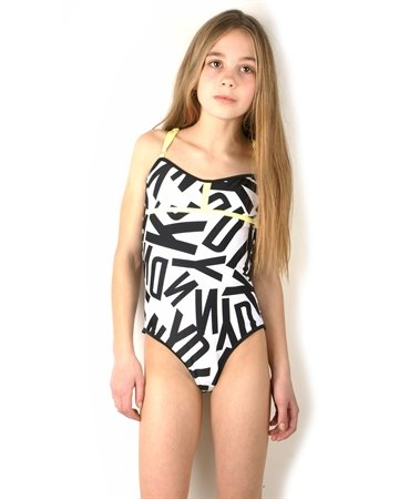 DKNY Swimming 37076 Black White
