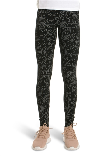 DKNY Leggings Black D34917 print