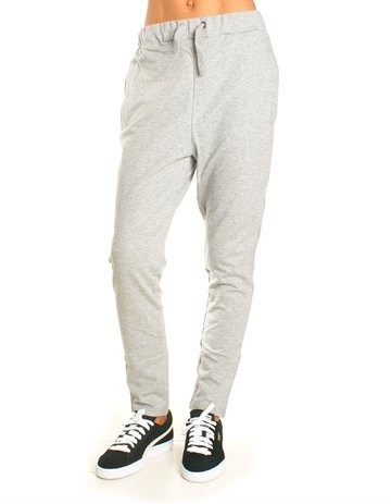 LMTD Girls Sweat Pants Nitvermondrias Grey melange