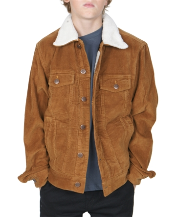 Dickies jakke Naruna Brown Duck