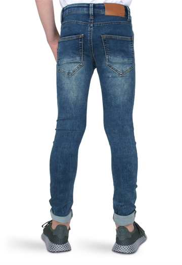 LMTD Boys jog Jeans Pilou med. blue denim