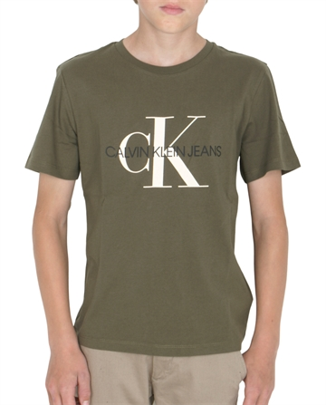 Calvin Klein Boys Monogram s/s Tee Grape Leaf