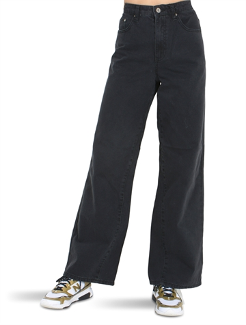 Grunt Girls Wide Leg Calm Pants Black