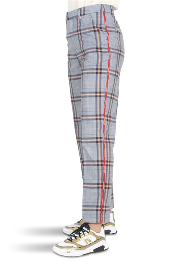 Calvin Klein Girls Tailored Pants Natural Check