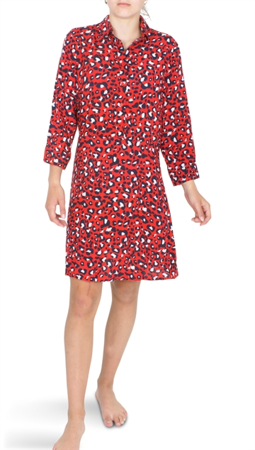 Grunt Girls Solvej Dress Happy Red