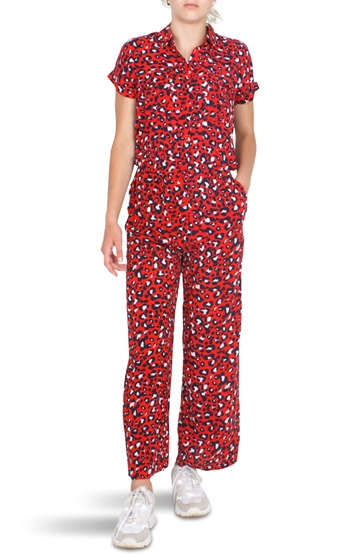 Grunt Girls Sigrid Culotte Suit Happy Red