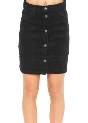 LMTD Girls Skirt NLFBanicka Cord Black