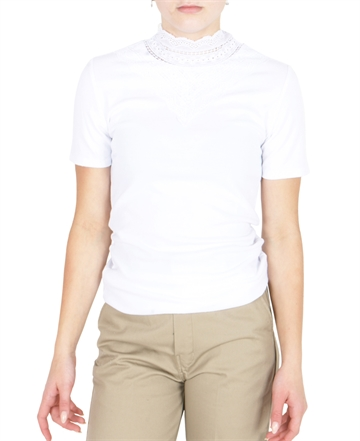 LMTD Bridget SS Top White