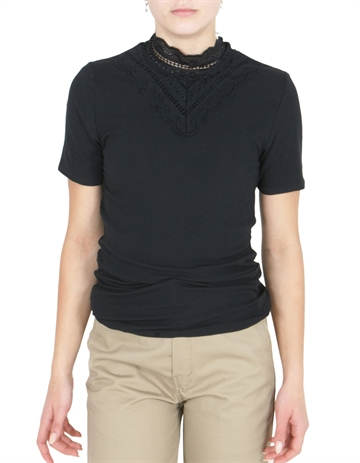 LMTD Bridget SS Top Black