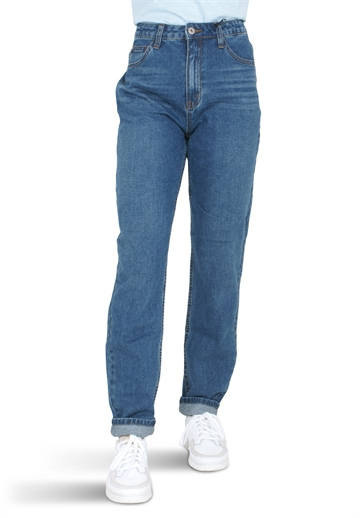 Grunt Jeans Emma Mom Eight Blue