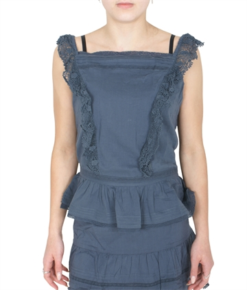 Zadig & Voltaire Top Camisole X15216 Slate Blue