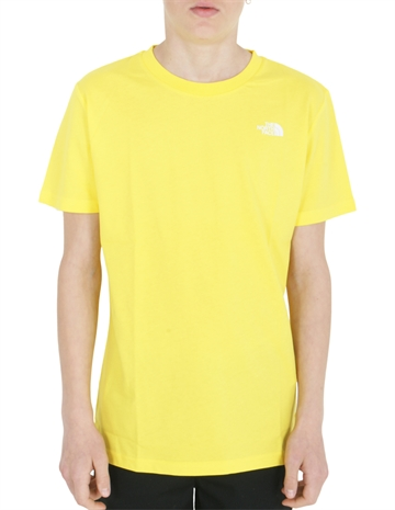 The North Face T-shirt Simple Dome  Lemon